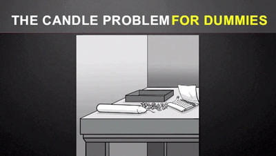 candle problem for dummies